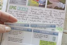 Capturing Memories / Creative ways to #scrapbook or # preserve # memories