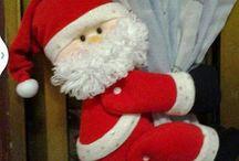 navidad moldes