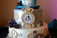 Steampunk wedding cakes / Cakes that inspire steampunks