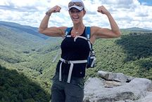 Why Hiking is Good For You... / Great motivating photos and articles as you tell children's cancer to Take A Hike!