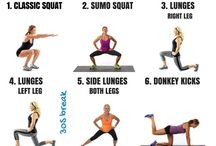 lower back bum exercises and stretches
