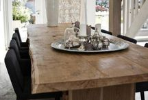 Farm tables / by Sandra Gibbs Faigle