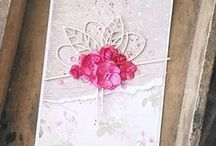 Mosia's beautiful card with our flower!