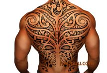 mixed Maori tatts
