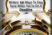 Writing-Schedules and Deadlines