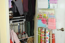 Home Organization & Cleaning Ideas / Tips, tricks and ideas for organizing life. A place for everything and everything in its place!