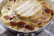 Gratin camembert