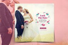 Wedding Instagram Banner (Lock the date)