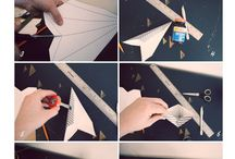 etoiles papier