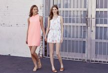 Trend: Sisters / A look book photoshoot of all our styles inspired by the story of love and sisters