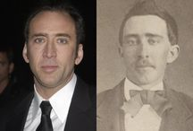 Celebrity time travel & look-a-like photos