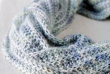 Knit Scarves / by Sandy Krupa
