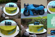 Torten für Männer / Cake for men - Meine Torten http://frau-paulus-tortendrang.de/