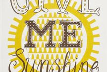 Sunshine! / by ToySplash.com