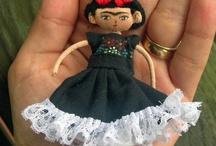 Frida Kahlo Dolls