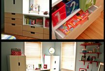 Kid Space / Kid friendly rooms and decor / by Jaclyn Clayton