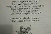 fingerspiele/Kreisspiele