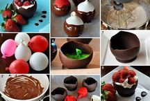 Creative food ideas / Ideas for parties and serving guests