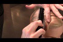 Making Hair waves / Tutorial Hair waves - lainekampaus videot