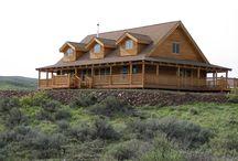 log cabin / by Annette Rosales