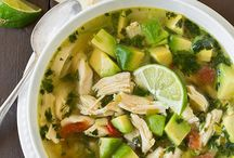Chicken Avo Lime Soup