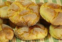 Bolos , pães e biscoitos