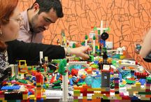 Rhodes Greece Training Kids & Teachers on Game Design  / Usign Lego Serious play to design a city GAME in Rhodes.