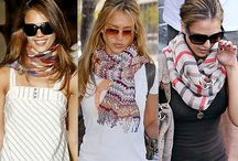 Celebrities & Scarves / by ScarfRing.Com