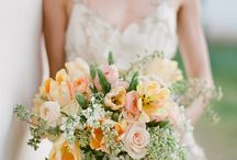 Image for Nonni's wedding  / theme of cream, peach, soft vintage