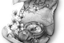 Tattoo maps