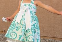 Kids fashion and sew tutorials