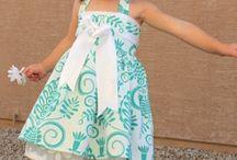 Kids fashion and sew tutorials