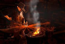 Blacksmith / We honor those who brave the heat and #forge onward.