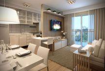 cozinha+sala jantar+sala estar