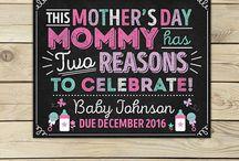 Pregnancy Announcements & Reveals