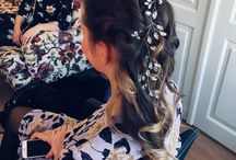 Inspiration - Bridal makeup and hair updo