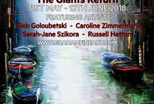 The Giants Return / Graham Fine Art presents many original works, alongside a select number of signed limited edition pieces. ​ The exhibition features Artists: Gleb Goloubetski Caroline Zimmermann Sarah-Jane Szikora Russell Hatton Full information on all represented artists can be found at www.grahamfineart.com https://www.facebook.com/events/919067464953110??ti=ia