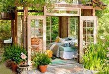 Garden Retreats / Can also serve as outdoor cabins