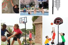 March Madness Basketball / March is the season for basketball.  The weather warms up and the kids want to play basketball.  These are some of the most popular basketball systems you'll see in your neighborhood.  Exercise doesn't feel like exercise when you're dribbling a basketball.