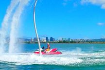 Water Sports / People doing fun things in the water who might be more comfortable wearing a NoNetz!