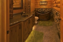 For the Log Home / Dream features, upgrades, and embellishments for my log home... / by Lauren Lynch