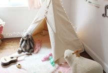 Światełka / światełka, lampeczki, żaróweczki w pokoju dziecięcym
