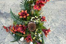 Kompozycje kwiatowe (nagrobne i inne)