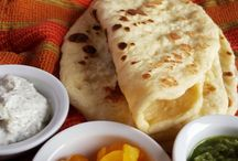 Naan - Indian Flat Bread / The recipe for making naan