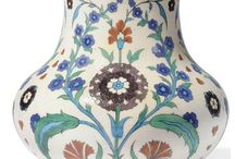 Çini ve seramik vazolar