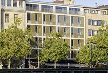 Georgstrasse Building / SEFAR Vision Metal Coated Glass Interlayer