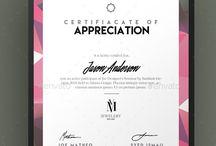 сертификаты; открытки
