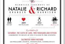 Wedding Invite inspiration / by Cindy Wong