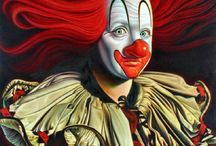 Circus posters and Clowns & Jokers