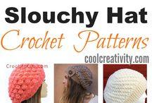 قبعات كروشيه. Crochet Caps